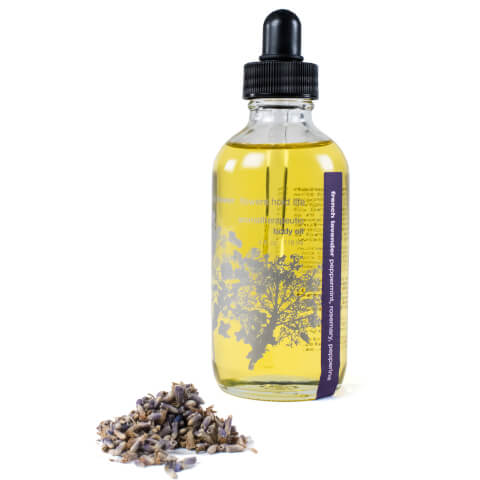Red Flower French Lavender Aromatherapeutic Body Oil