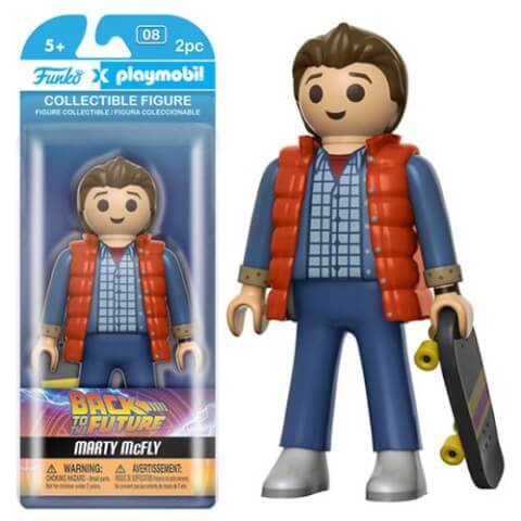 Funko x Playmobil: Back to the Future - Marty Action Figure