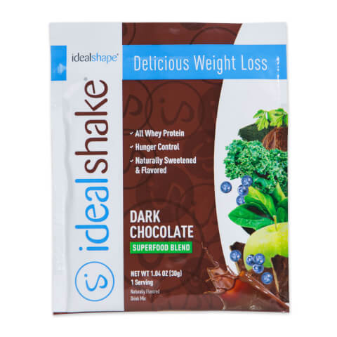 IdealShake Super Chocolate Sample