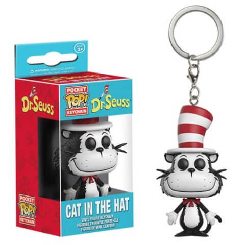 Dr. Seuss Cat In The Hat Pocket Pop! Key Chain