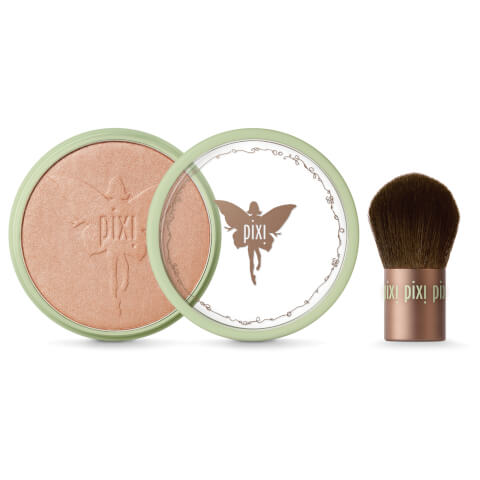PIXI Beauty Bronzer and Kabuki - Subtly Suntouched