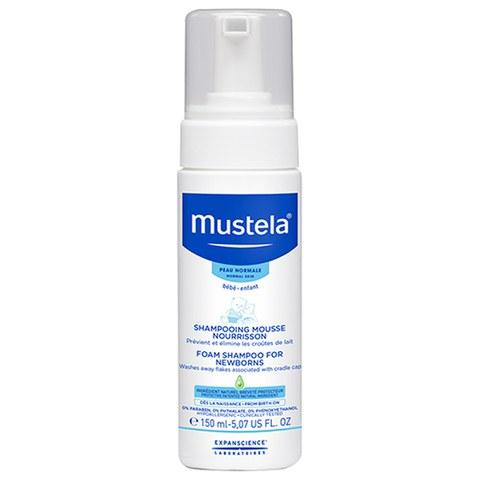 Mustela Foam Shampoo for Newborns 5.1 oz.