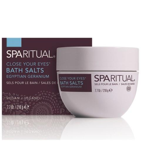 SpaRitual Close Your Eyes Bath Salts 228ml