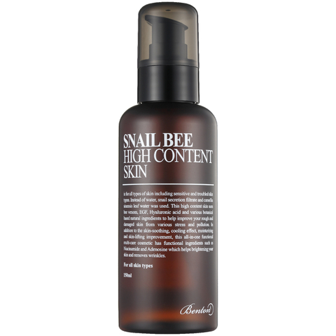 Benton Snail Bee High Content Skin Toner 150ml