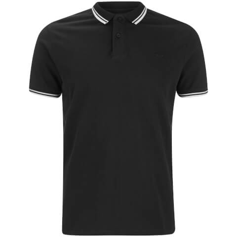 Threadbare Men's Gilroy Polo Shirt - Black