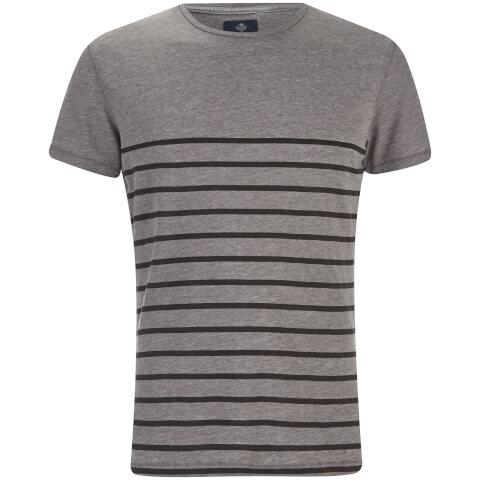 T-Shirt Homme Matthews Col Rond Threadbare -Gris