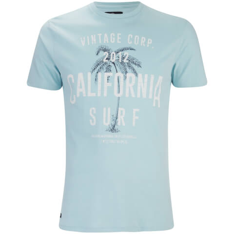 Threadbare Men's Paradise Crew Neck T-Shirt - Blue