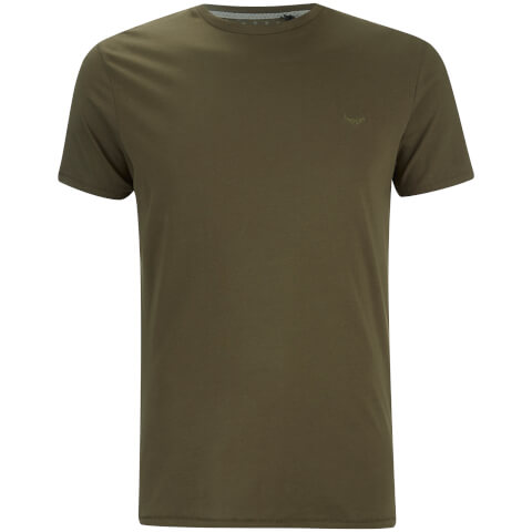 Threadbare Men's William Crew Neck T-Shirt - Khaki