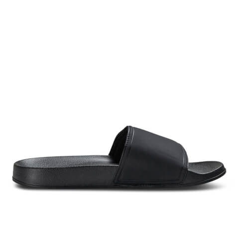 Sandales à Enfiler Slider Jack & Jones - Gris Anthracite