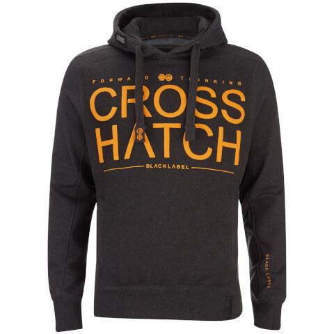 Sweat à Capuche Homme Sevcon Rib Detail Crosshatch - Gris Charbon