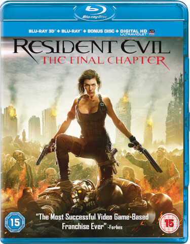 Resident Evil: The Final Chapter 3D (Includes 2D Version)