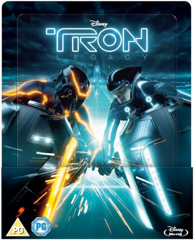 Tron Legacy Steelbook Édition Lenticulaire Exclusivité Zavvi (Édition UK)