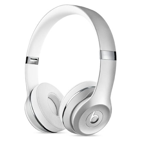 Beats by Dr. Dre Solo3 Wireless Bluetooth On-Ear Headphones - Silver