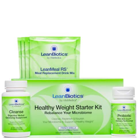 VitaMedica LeanBiotics Healthy Weight Starter Kit - French Vanilla (Worth $124.00)