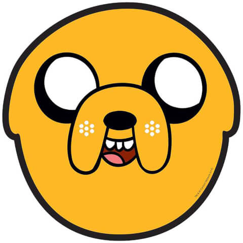 Adventure Time Jake Mask