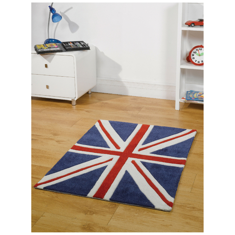 Flair Kiddy Play Rug - Mini Jack Red/White/Blue (70X100)
