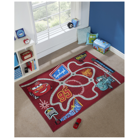 Flair Matrix Disney Rug - Cars Multi (133X190)