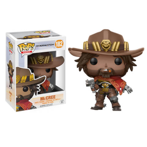 Figurine Funko Pop! Overwatch McCree