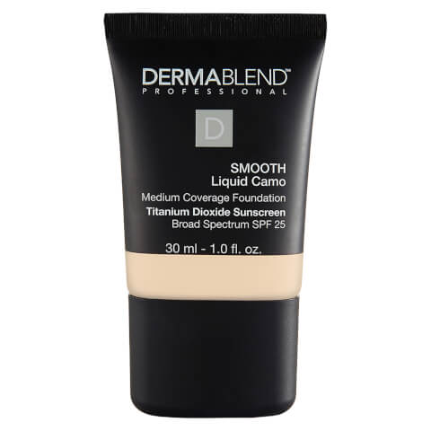 Dermablend Smooth Liquid Foundation Make-Up with SPF25 for Medium to High Coverage (Various Shades)