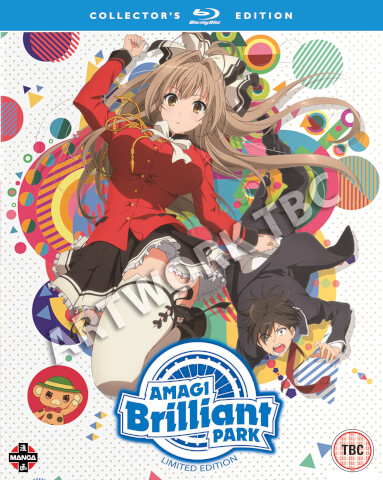 Amagi Brilliant Park Complete Season 1 Collection - Deluxe Edition