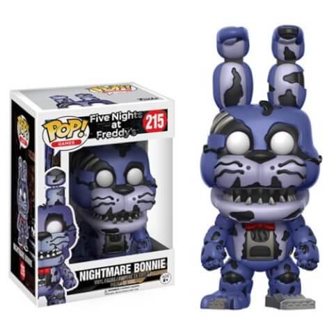 Five Nights at Freddy's Nightmare Bonnie Pop! Vinyl Figure