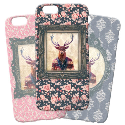 Coque pour iPhone and Android Cerf