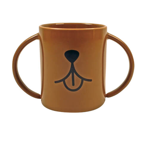 Animal Mugs Dog Mug - Brown