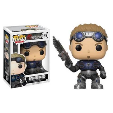 Figurine Funko Pop! Gears of War Damon Baird (En Armure)