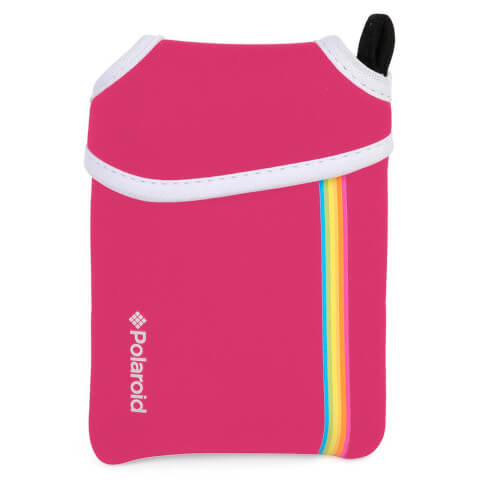 Polaroid Neoprene Pouch (For Snap Instant Digital Print Camera) - Pink