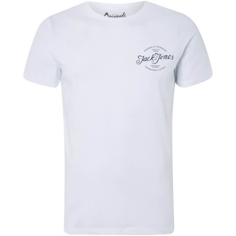 Jack & Jones Men's Originals Liam T-Shirt - White