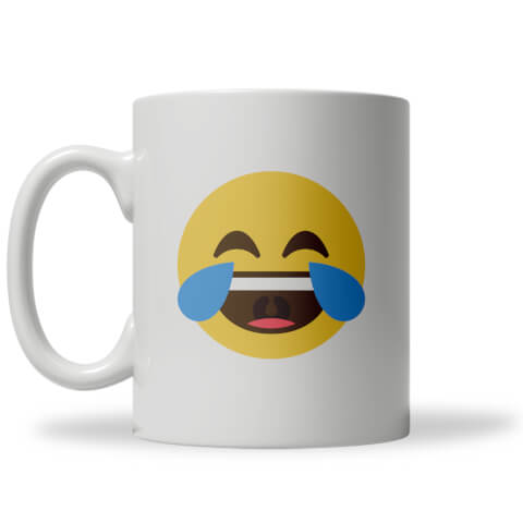 Cry with Laughter Emoji Mug