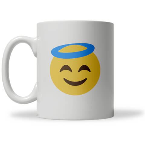Angel Emoji Mug