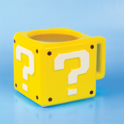 Tasse Mario Bloc Point d'Interrogation -Jaune
