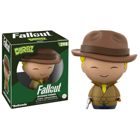 Fallout Vault Boy Mysterious Stranger Dorbz Vinyl Figure