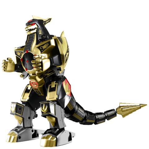 Figurine Dragonzord Or et Noir Power Rangers Legacy
