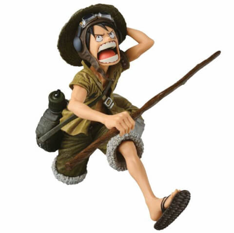 Banpresto One Piece Scultures Big Zoukeio Monkey D. Luffy - Special Colouring Version