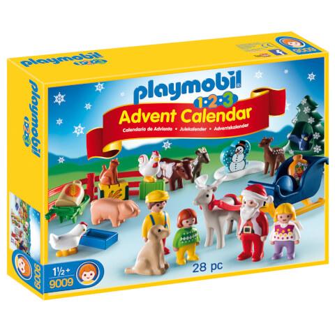 Playmobil 1.2.3 Christmas on the Farm Advent Calendar (9009)