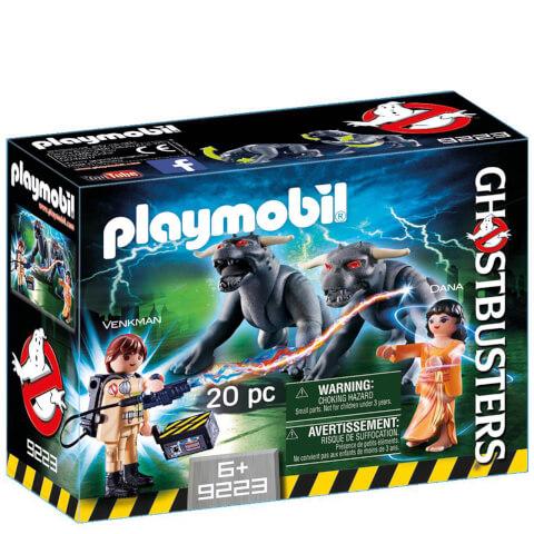 Venkman et les Chiens de la Terreur Ghostbusters™ (9223) -Playmobil