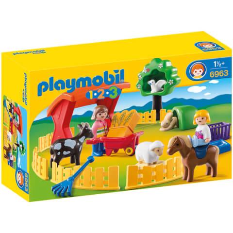 Parc animalier (6963) -Playmobil 1.2.3
