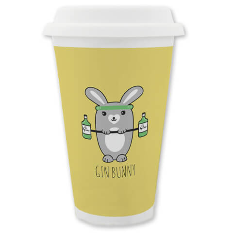 Gin Bunny Travel Mug