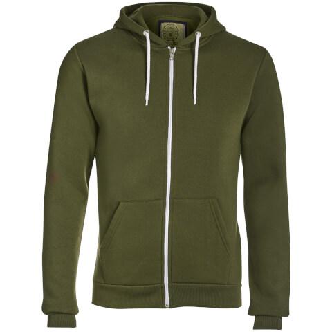 Advocate Men's Berkley Zip Through Hoody - Khaki