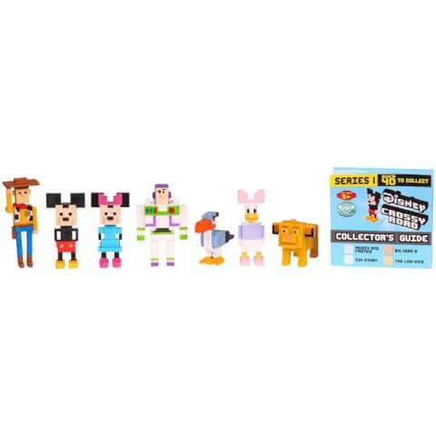 Disney Crossy Road Minifigures - 7 Pack