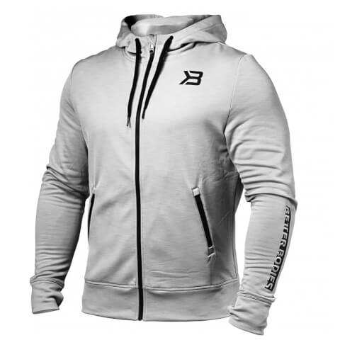 Better Bodies Performance Power Hoody - Grey Melange