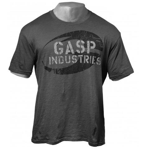 GASP Street Vintage T-Shirt - Dark Grey