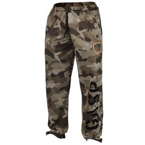 GASP Utility Mesh Pants - Green camoprint