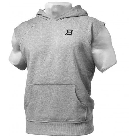 Better Bodies Hudson Short Sleeve Sweater - Grey Melange