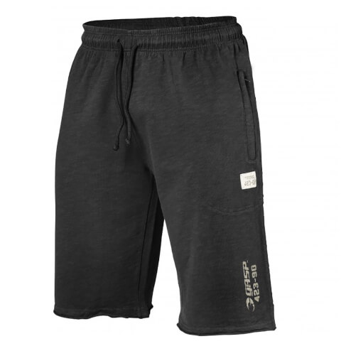 GASP Throwback Sweatshorts - Wash Black