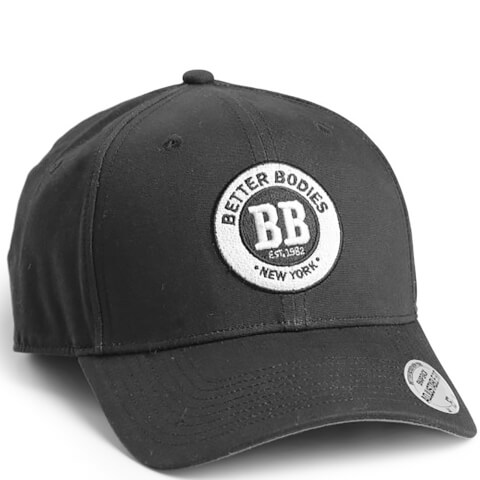 Better Bodies Men's Baseball Cap - Black/Grey