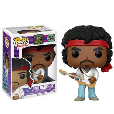 Pop! Rocks Jimi Hendrix Woodstock Pop! Vinyl Figure