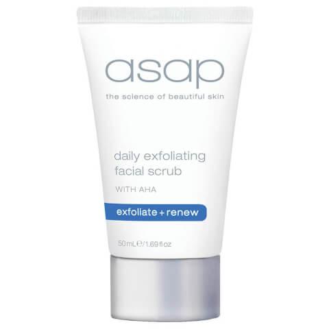 asap Daily Exfoliating Facial Scrub 50ml